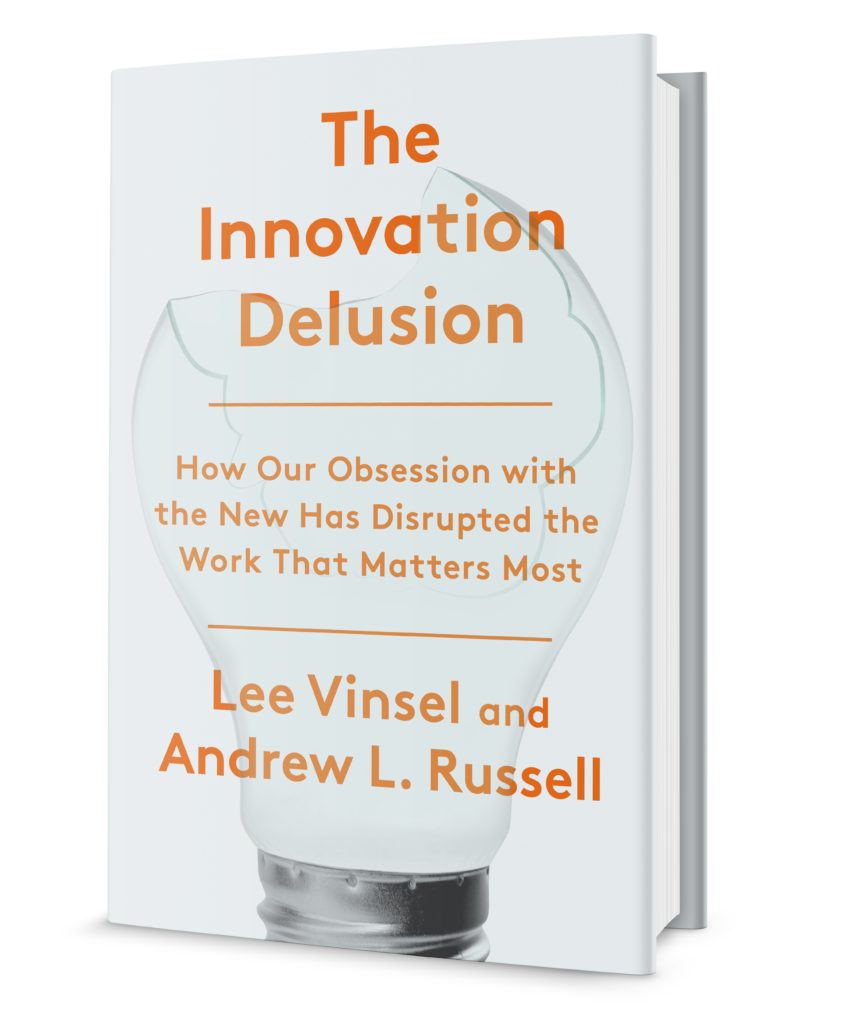 Innovation Delusion cover